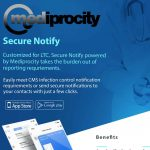 Image of the secure notify intro flyer